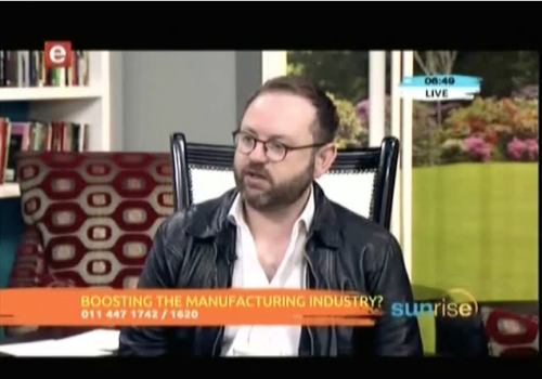 Interview with FTI consulting Coenraad Bezuidenhout about the Manufacturing Indaba